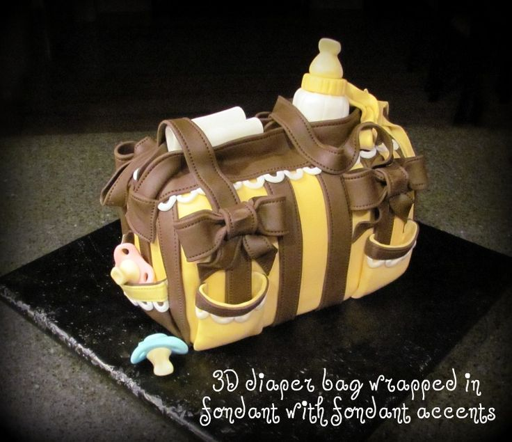Welcome to Sweet Creations: Diaper Bag Cake