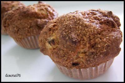 Moje Wypieki | Muffiny rabarbarowe