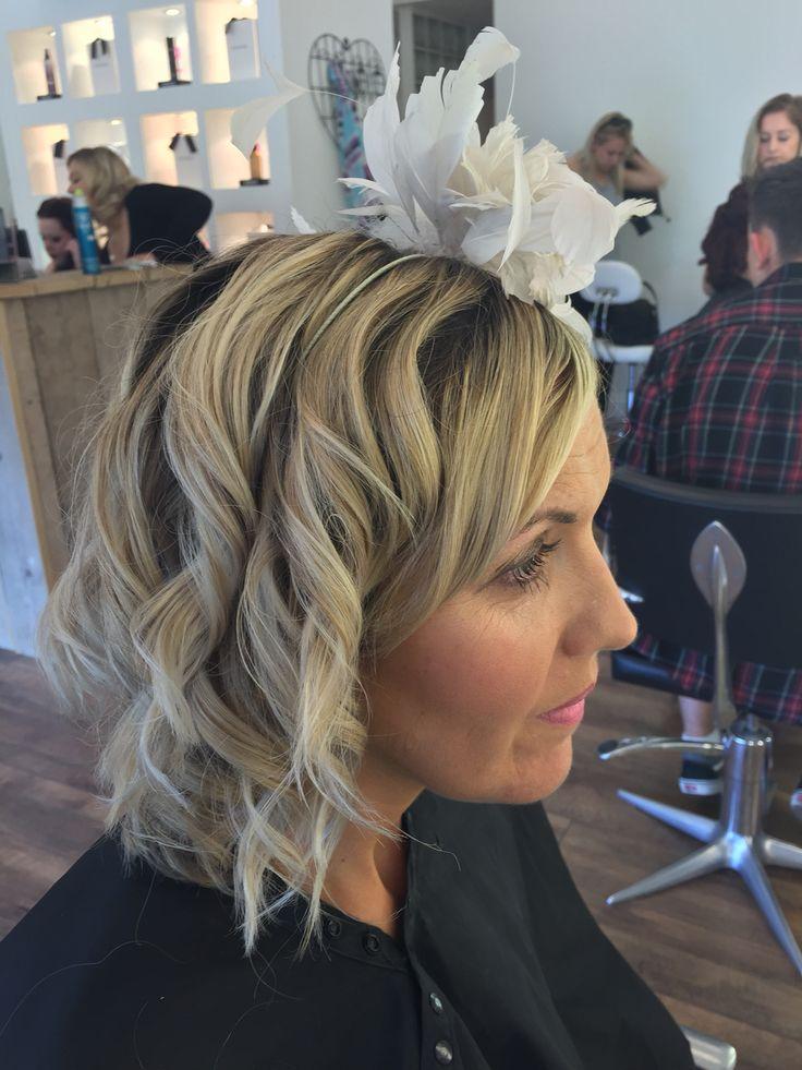 Pretty hair for royal ascot ladies day.