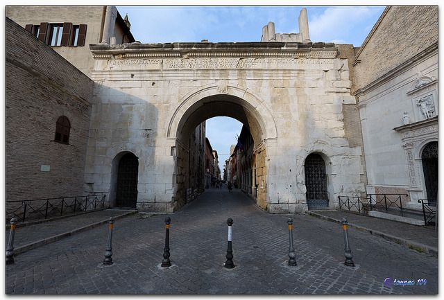 "Fano ""arco di Augusto"" by tonpao104, via Flickr"