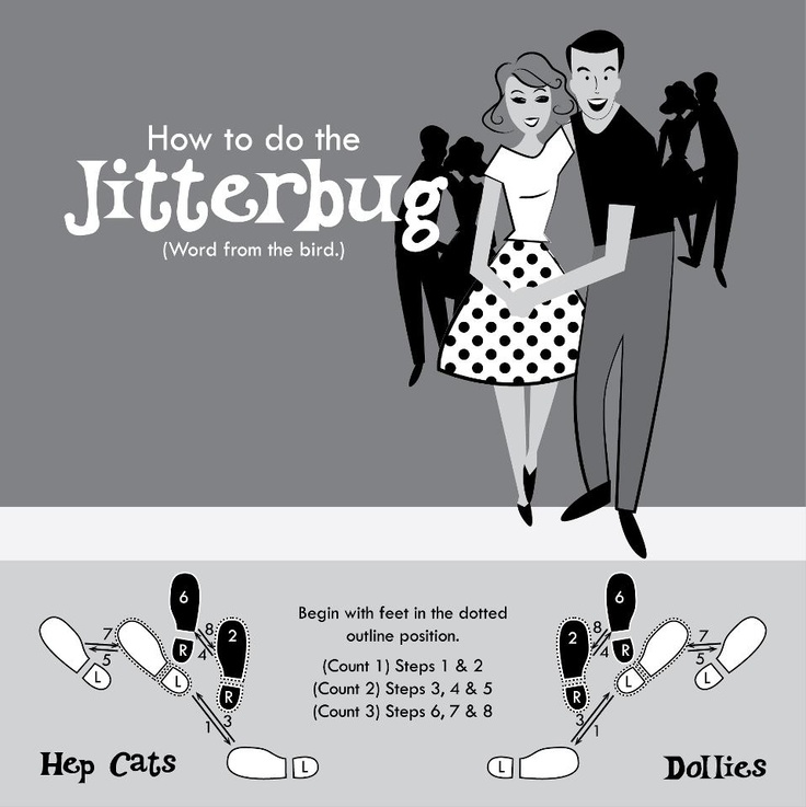 How to Jitterbug Single Swing: Center, Rhythm, Movement ...