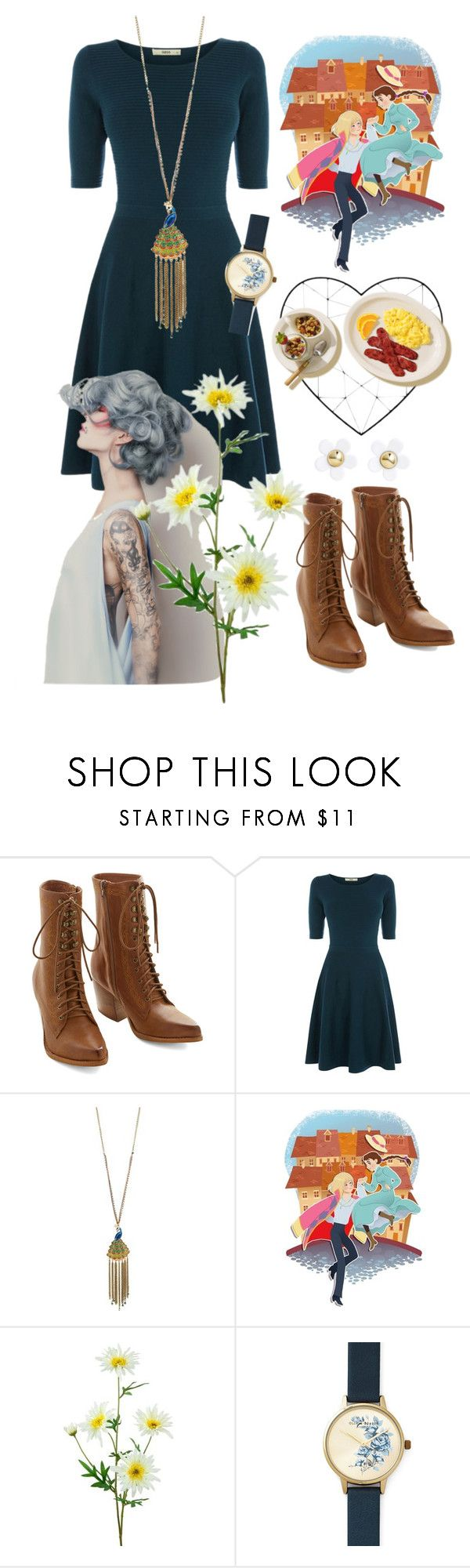 """""""Sophie <3"""" by thedailydornan ❤ liked on Polyvore featuring beauty, Jeffrey Campbell, Oasis, Betsey Johnson, Olivia Burton and H&M"""