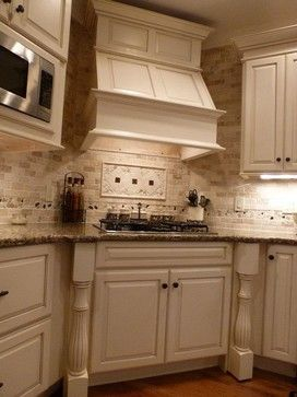 Kitchens By Woody S Medallion Cabinets With Morel Vintage Painted Finish Granite Top Stand
