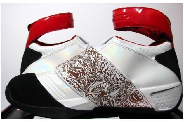 My Air Jordan 20's.  Its almost time for another pair of these.