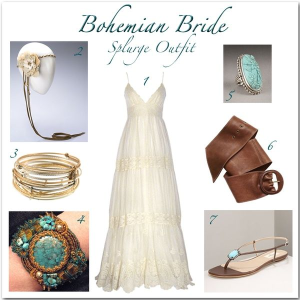 Bohemian Bride #bohemian #bride #wedding #dress