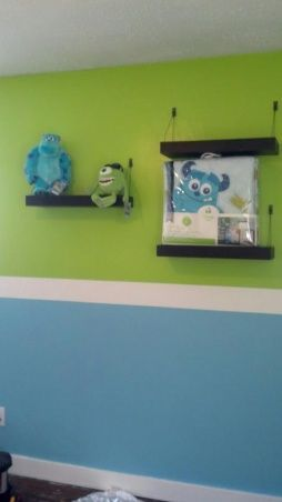 monsters inc room decor | Kruzs Monster room, Monsters inc. themed ... | For Brady, or the next ...
