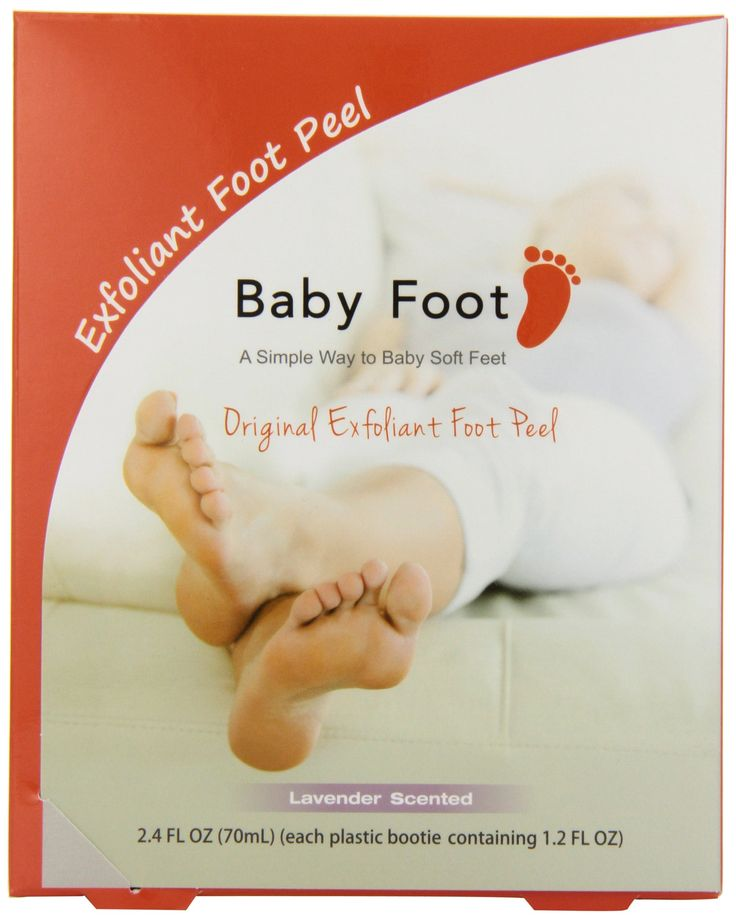 Amazon.com : Baby Foot Easy Pack 1.2 FL OZ per Foot X 2, Lavendar Scented : Corn And Callus Treatment Products : Beauty