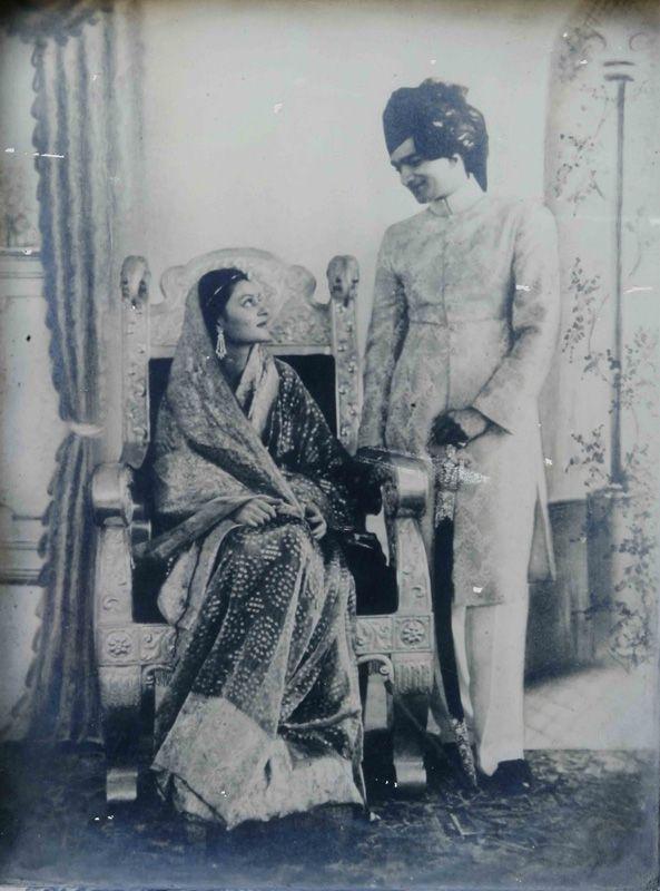 The royal wedding- Gayatri Devi and Man Singh II