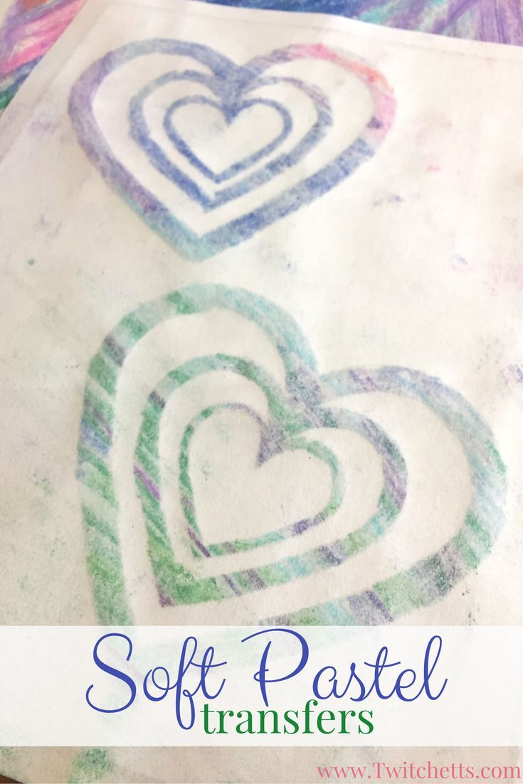 Soft Pastel Transfers.  Soft pastels for beginners. Ths pastel technique is the perfect way to introduce pastels to kids. Includes a free template to help your little one create their pastel art.  {pacifickid.net}