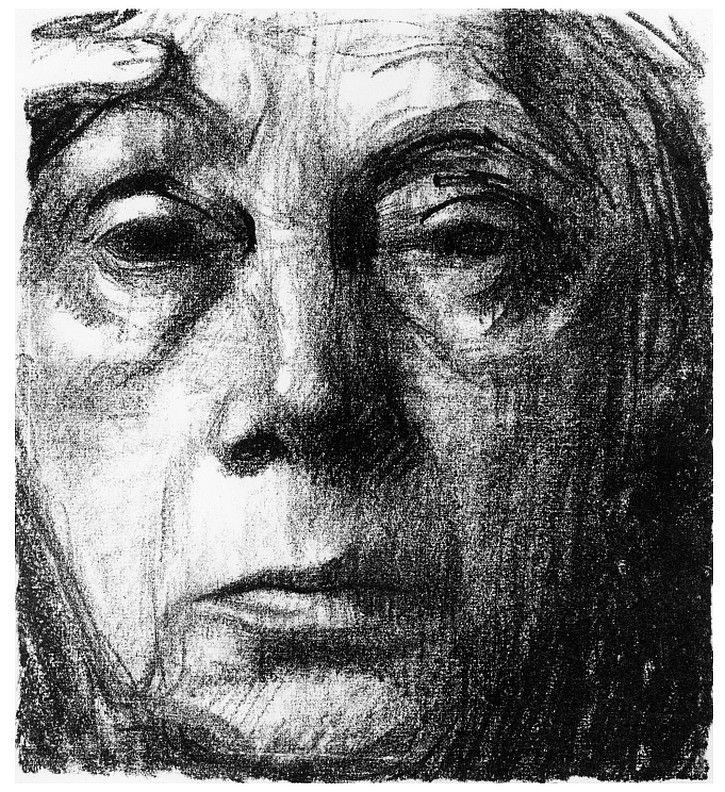 Self Portrait by Käthe Kollwitz on Curiator – http://crtr.co/1sb2