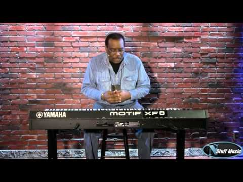 Yamaha Motif XF8 88-Key Workstation Video 2 - YouTube