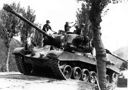 M26 Pershing heavy tank, date unknown