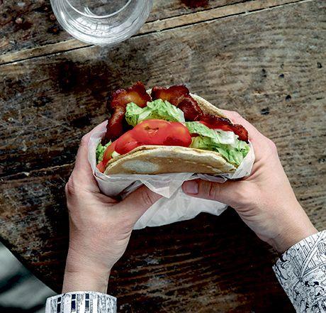 Alle slags sandwichfyld passer i en PANDEKAGE!
