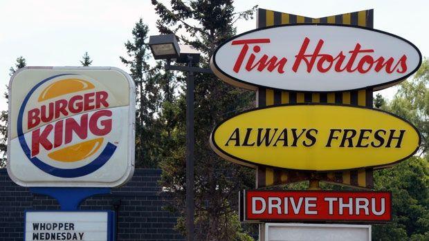 Burger King, Tim Horton's