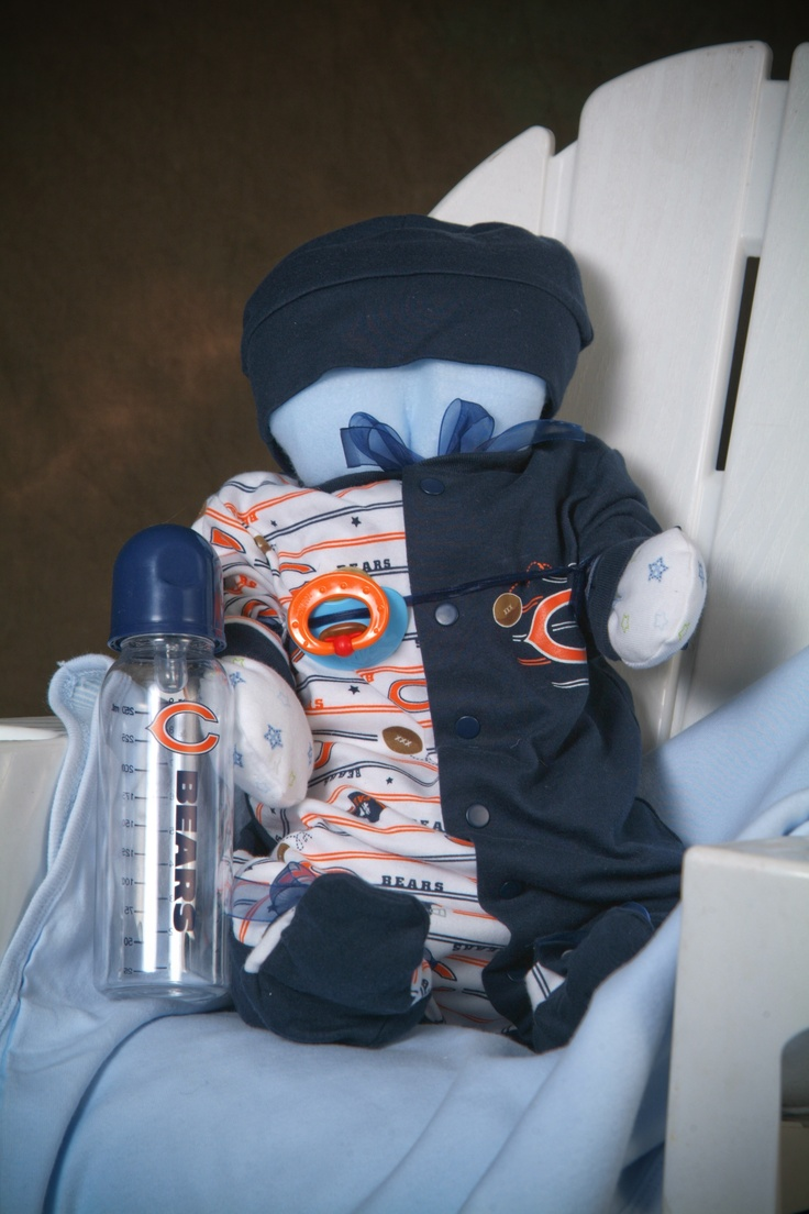 Baby Shower gift in your favorite sports team! prices start at $42.95  www.cuddlemebabies.com