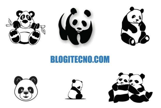 Dibujos Tiernos De Osos Panda Para Colorear E Imprimir Panda Para Colorear Tatuajes De Osos Panda Osos Pandas Dibujo