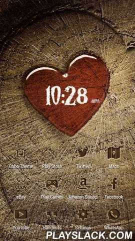 Graven Love Wooden Heart Theme  Android App - playslack.com , Cobo Themes are designed for Cobo Launcher .For all the people who are in love right now, here comes the most beautiful wall paper for you. Settle your phone wall paper about love. Something is obviously memorable, and people always like to stamp it down, grave in a tree, carve in stone. On the wooden texture, we can leave the couple's name. In the picture, you can find the annual ring of heart shape, which brings out the…