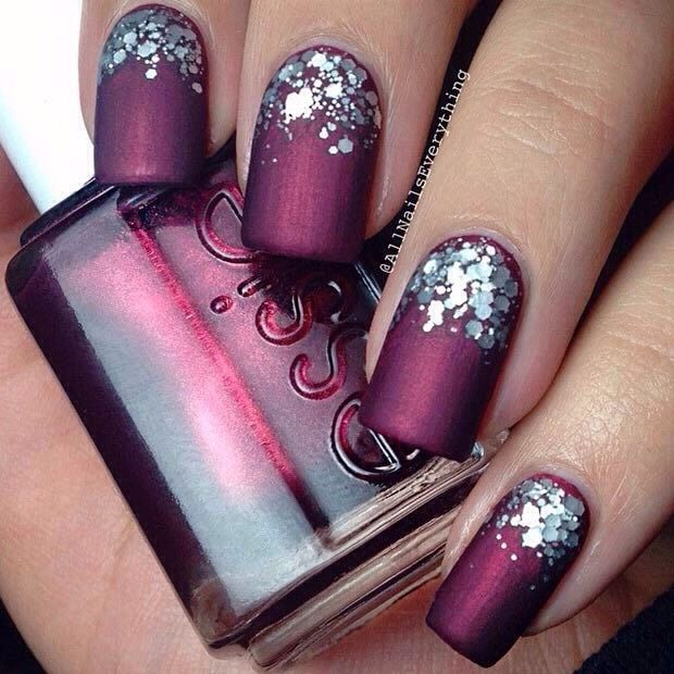 25+ Best Ideas About Wine Nails On Pinterest