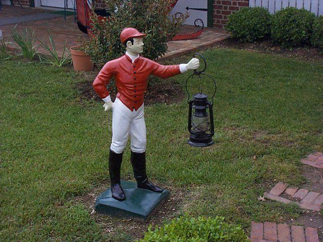 Lawn jockey gotta get one lawn jockey pinterest for Lawn ornaments for sale
