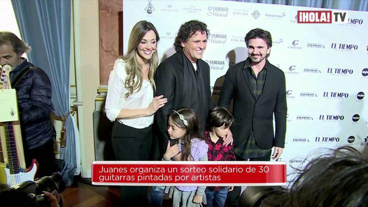La recaudación solidaria de Juanes 'Art Guitar'  | Mundo HOLA