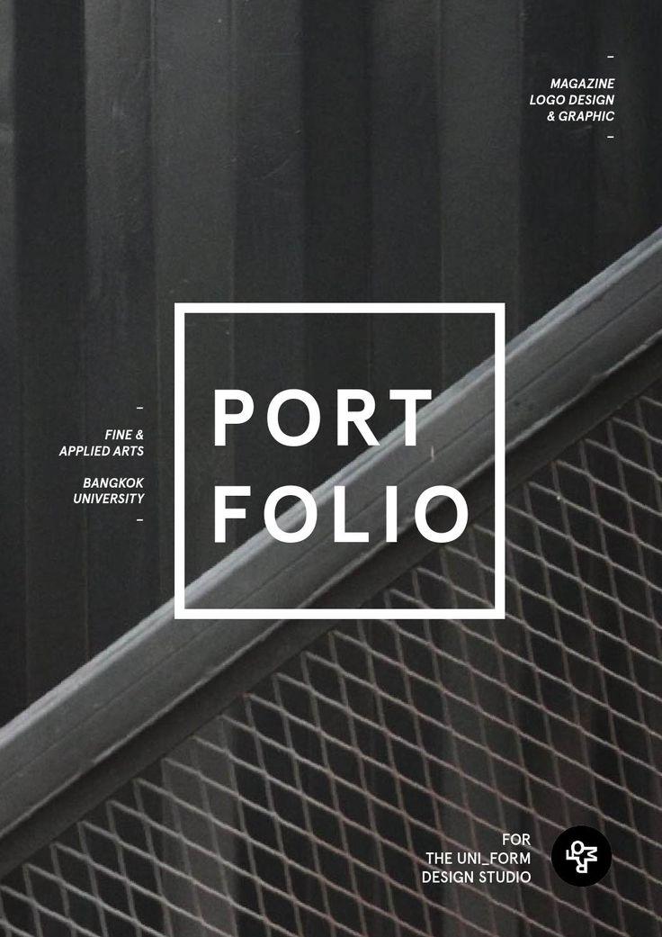 Best 25+ Portfolio covers ideas on Pinterest | Portfolio ...
