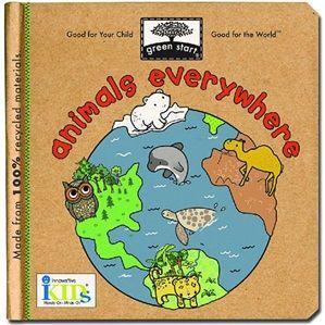 Green Start Books | Animals Everywhere at little green footprints