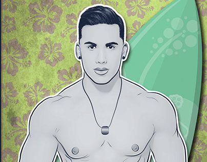 "Check out new work on my @Behance portfolio: ""Topher Dimaggio Vector"" http://on.be.net/1Mcnk6i"