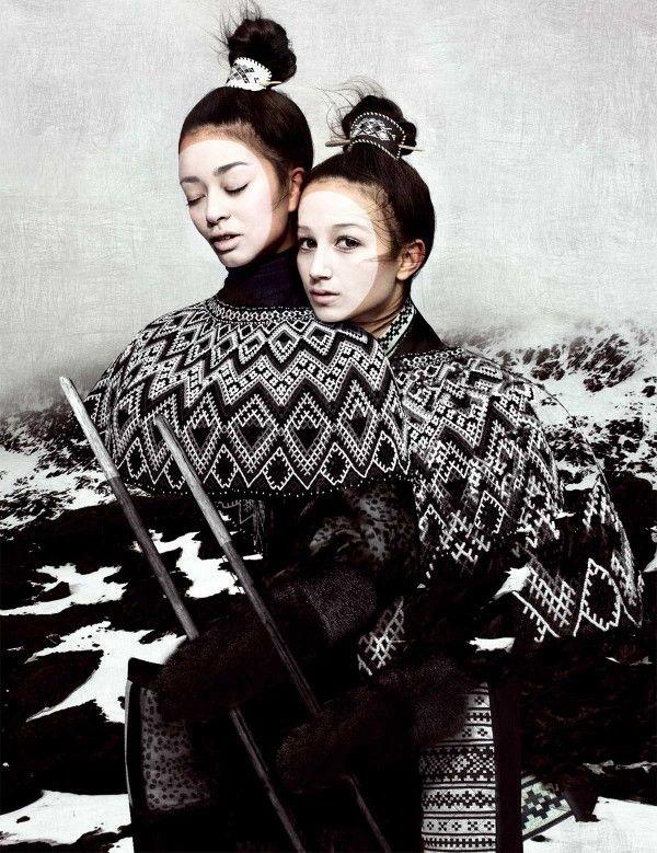 Nordic-fashion... Moda Nórdica...