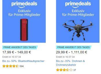 """Amazon: 17 Bluetooth-Lautsprecher zu Preisen ab 17,99 Euro https://www.discountfan.de/artikel/technik_und_haushalt/amazon-17-bluetooth-lautsprecher-zu-preisen-ab-17-99-euro.php Ausgewählte Bluetooth-Lautsprecher sind heute bei Amazon im Rahmen der """"Prime Deals"""" zu Preisen ab 17,99 Euro zu haben. Außerdem im Angebot: GPS-Uhren, Software und Fernseher. Amazon: 17 Bluetooth-Lautsprecher zu Preisen ab 17,99 Euro (Bild: Amazon.de) Die Bluetooth-Lautsprecher mit R.."""