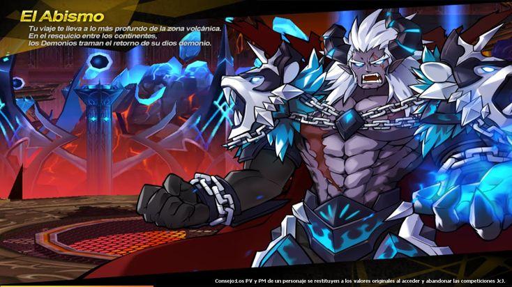 """El ultimo escenario de Ranox liderado por: Tajo de lava azul/Demon General Scar (me agrada mas el nombre en ingles XD). En este lugar nos encontramos de nuevo a Ignia y a los hermanos demonios como sub-lideres. Un pequeño truco para sobrevivir al General Scar y su poder vórtice de los demonios es haciendo el """"mana break"""" que es presionando la tecla Z/X."""
