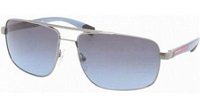 Prada Sps 55N Gunmetal Frame/Blue/Gray Lens 60Mm | $467,802.84