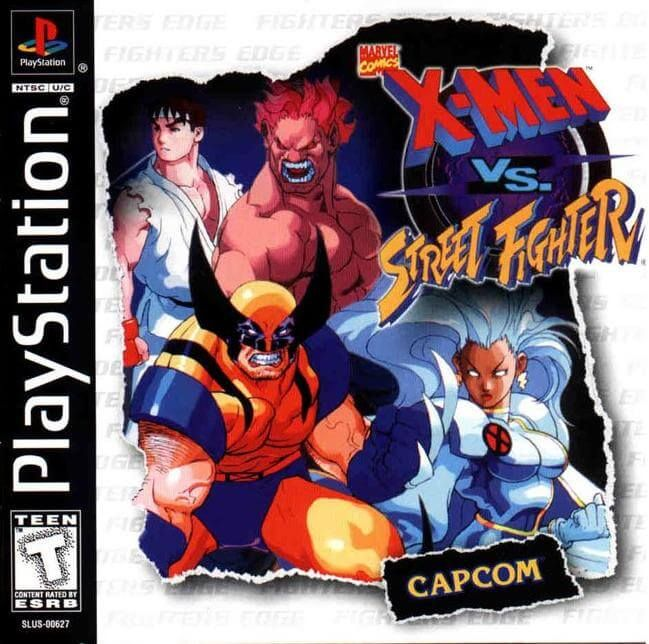 Game PC Rip - X Men vs Street Fighter PSX-PSP [NTSC] [Inglés]