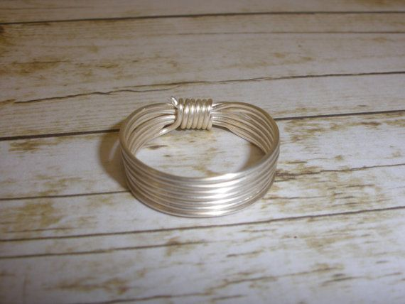 Simple Wire Band Ring on Etsy, $6.00
