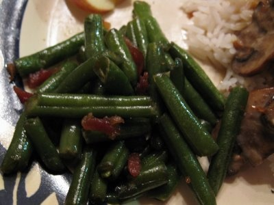 Quick and Savory Green Beans | Recipes | Pinterest | Green Beans ...