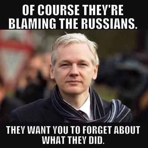 Of course the Russians are being blamed. The Dims want you to forget about what they did.