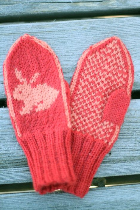 Free pattern - toddler mittens Also in Ravelry