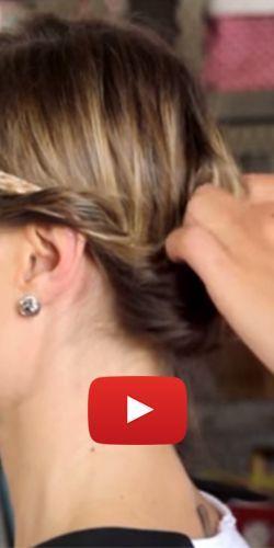 3 coiffures sur cheveux fins, courts et raides. http://rienquedugratuit.ca/videos/3-coiffures-sur-cheveux-fins-courts-et-raides/