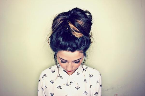Zoella hair-up-dos
