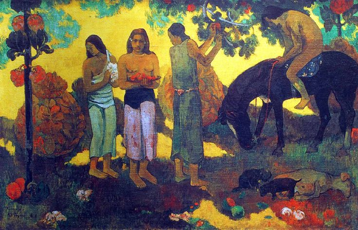 La Cueillette des Fruits, 1899 | Paul Gauguin