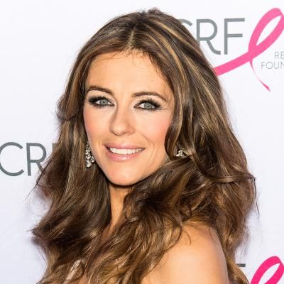 Buzzing: Elizabeth Hurley Pays Tribute to Jackie Collins With a Topless Bikini Photo #fashion