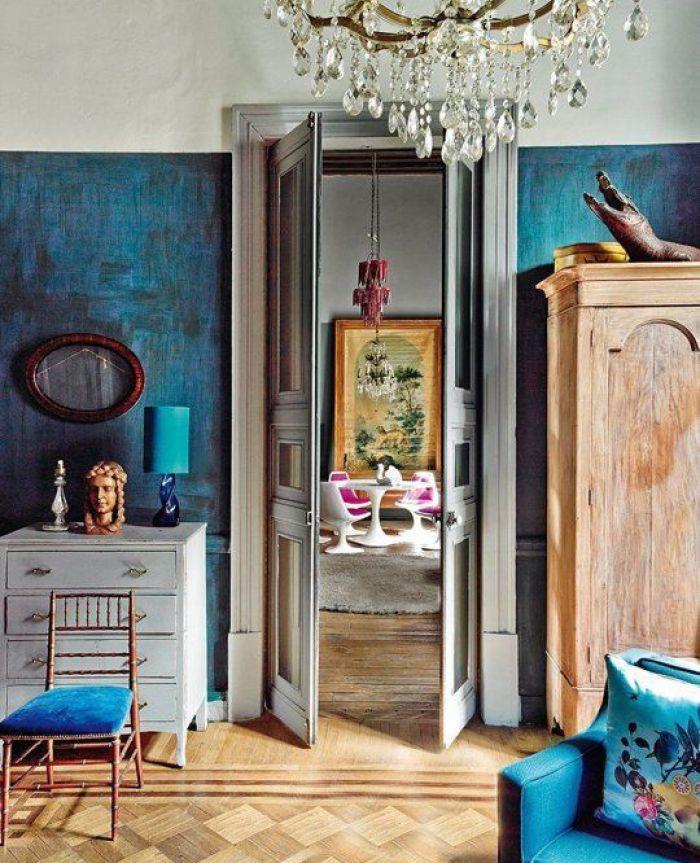 Blue Metallic Paint For Walls Popular Uk Wall Painting: 17 Best Ideas About Sponge Paint Walls On Pinterest