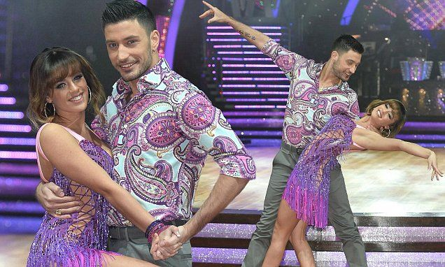 Georgia and Giovanni show off their flirty moves before Strictly tour