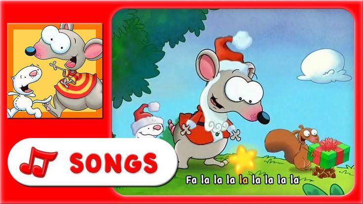 Celebrate the holidays with these fun Toopy and Binoo karaoke songs!  Binoo play the kazoo while Toopy is singing. Everytime you hear the Kazoo, say Fa la la!