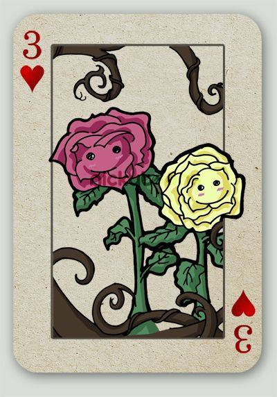 The talking flowers that doubt that Alice is the same Alice as the Alice they need to slay the jabberwocky because Alice is the only Alice that can do it