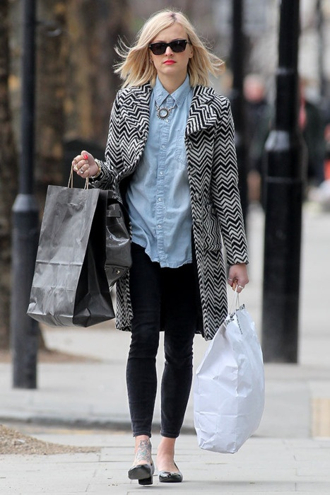 Absolutely adore Fearne Cotton's style