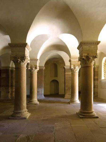 Carolingian Westwork and Civitas Corvey Germany   --- UNESCO