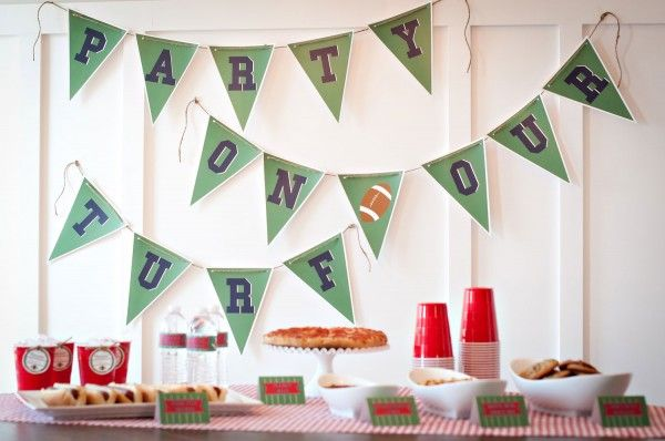 Superbowl Party Ideas + Free Printables | Occasions® - Weddings, Parties, Mitzvahs, Entertaining & All CelebrationsOccasions® – Weddings, Parties, Mitzvahs, Entertaining & All Celebrations