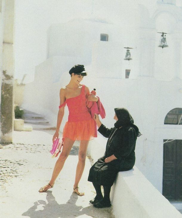 Chance & Apartment 34 Inspiration : Greece (Linda Evangelista in US Vogue, 1988)