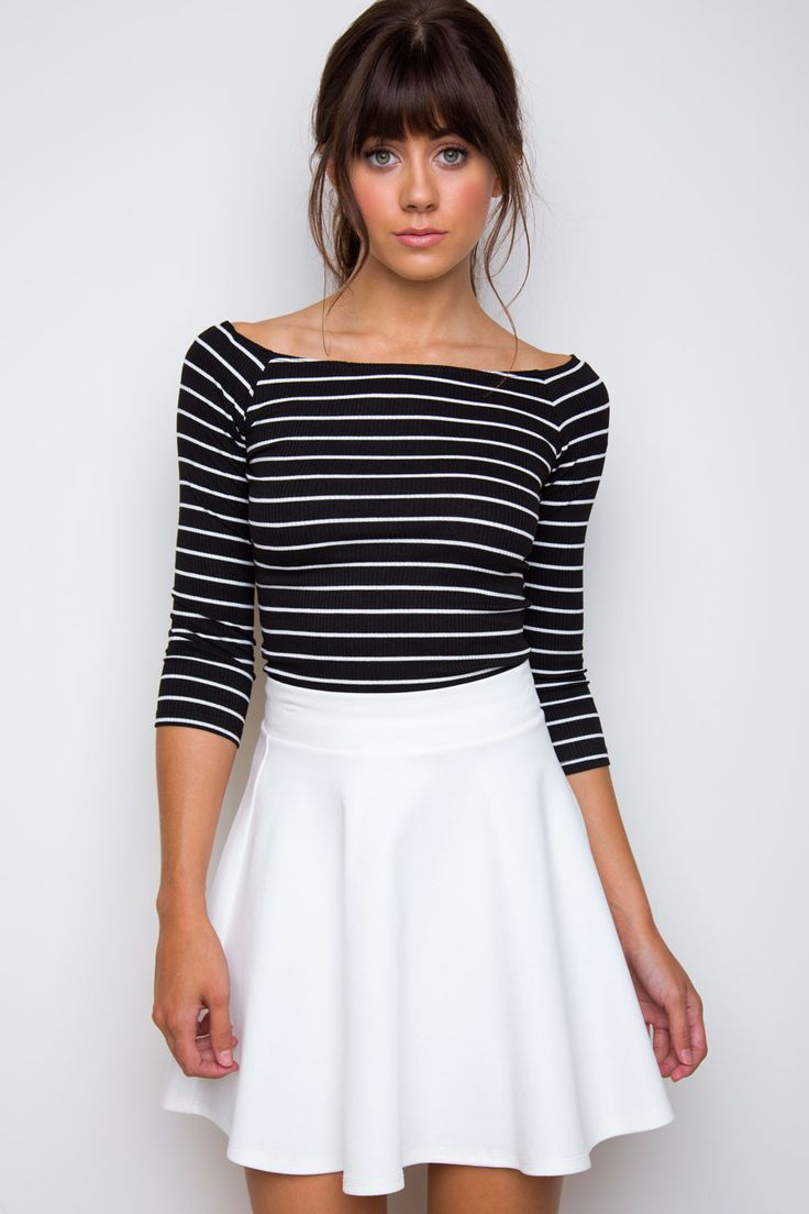 best 25+ white skater skirt ideas on pinterest | floral skirts