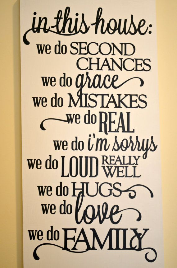 in this house we do grace - Google Search